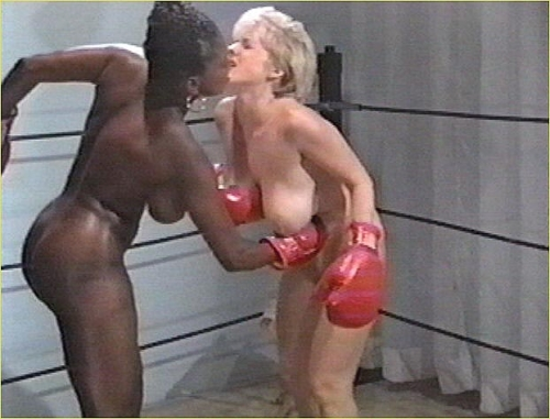 ebony nude boxing video